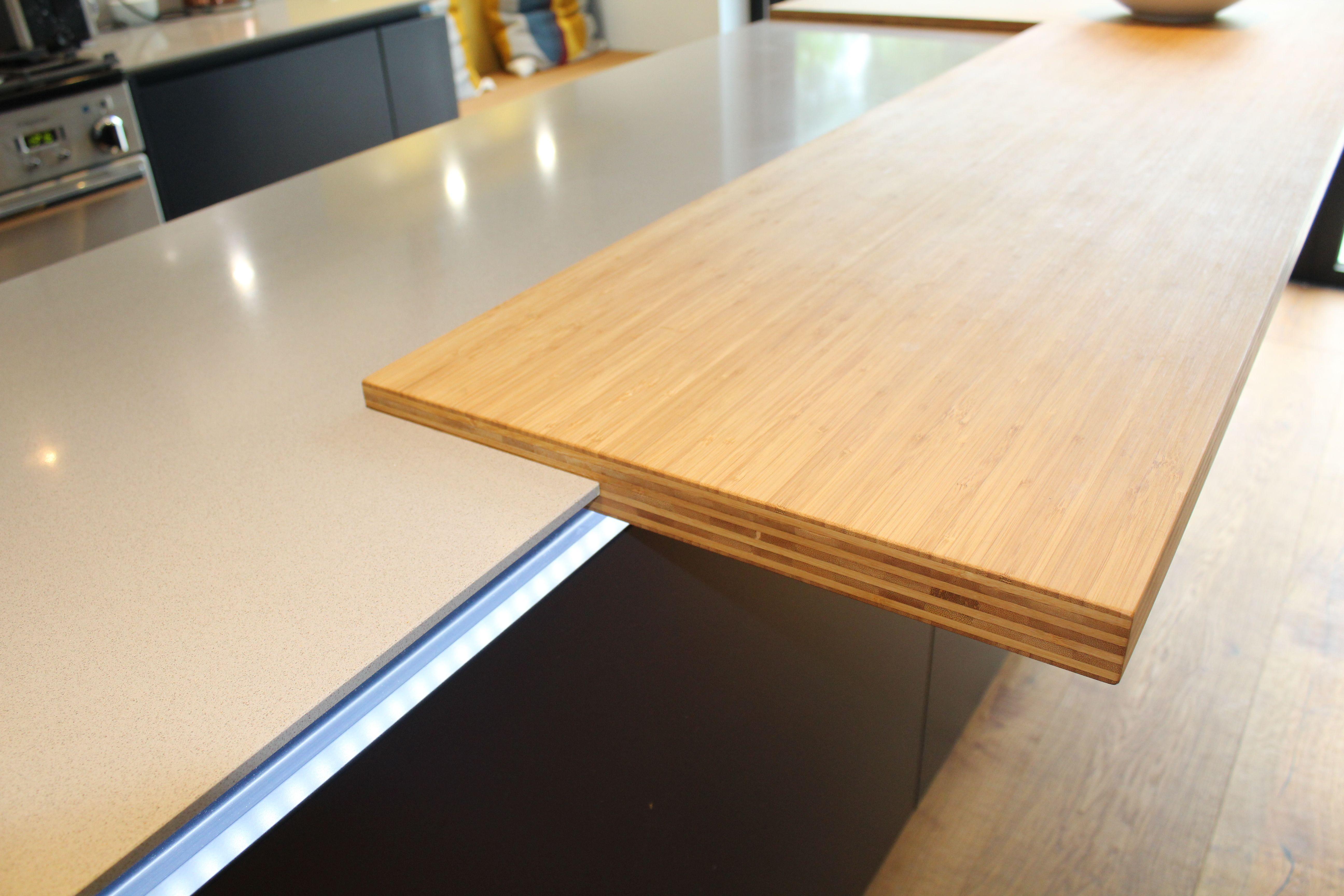 Spekva Bamboo Bar Top On Alnostar Sund Kitchen By Phil Harflett Of