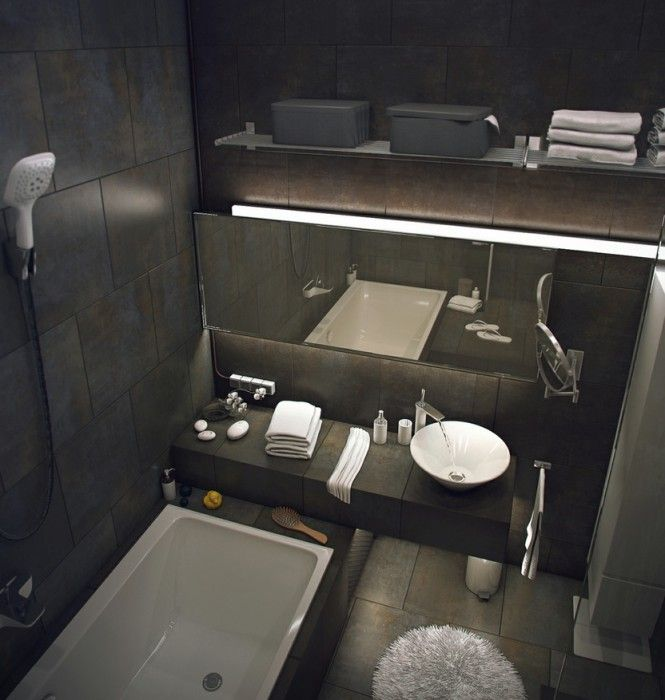 loft-design-salle-de-bain-1 Deco iT\u0027s FuN Pinterest Lofts
