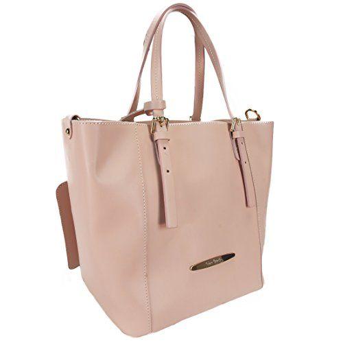 Pierre Cardin New Rose Pink Leather Hobo Bag Handbag aEBwGNgMZ