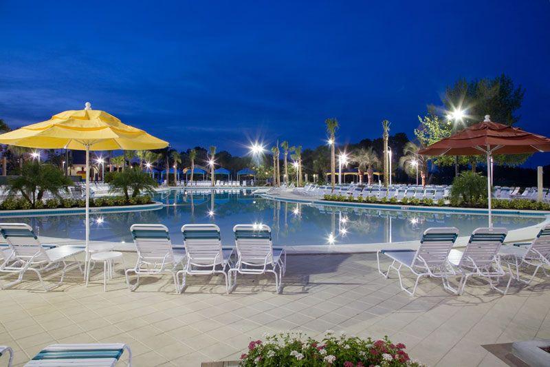 Water S Edge Beach Club One Of 9 Pools At Orange Lake Resort Florida Resorts