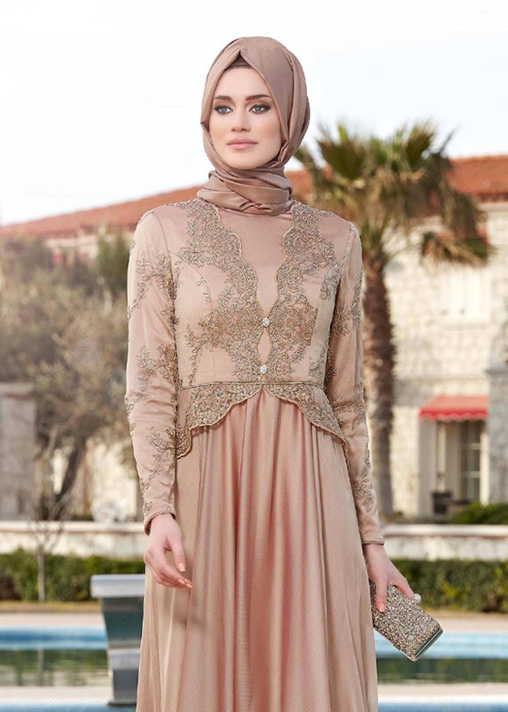 Sunnet Annesi Abiye Modelleri Arap Modasi Musluman Modasi Basortusu Modasi