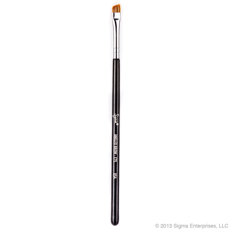 E75 Angled Brow Brush Eye Blending Brush Brow Brush Sigma Brushes