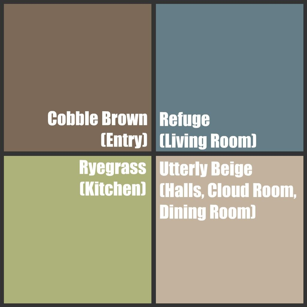 What color to paint my living room with brown furniture - Paint Ideas Best Colors Ever Sherwin Williams I Have All 4 In My House Cobble