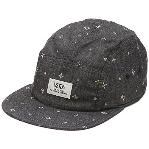 49661941c9d Vans Off The Wall Men s Davis 5 Panel Camper Hat Cap - Bl..