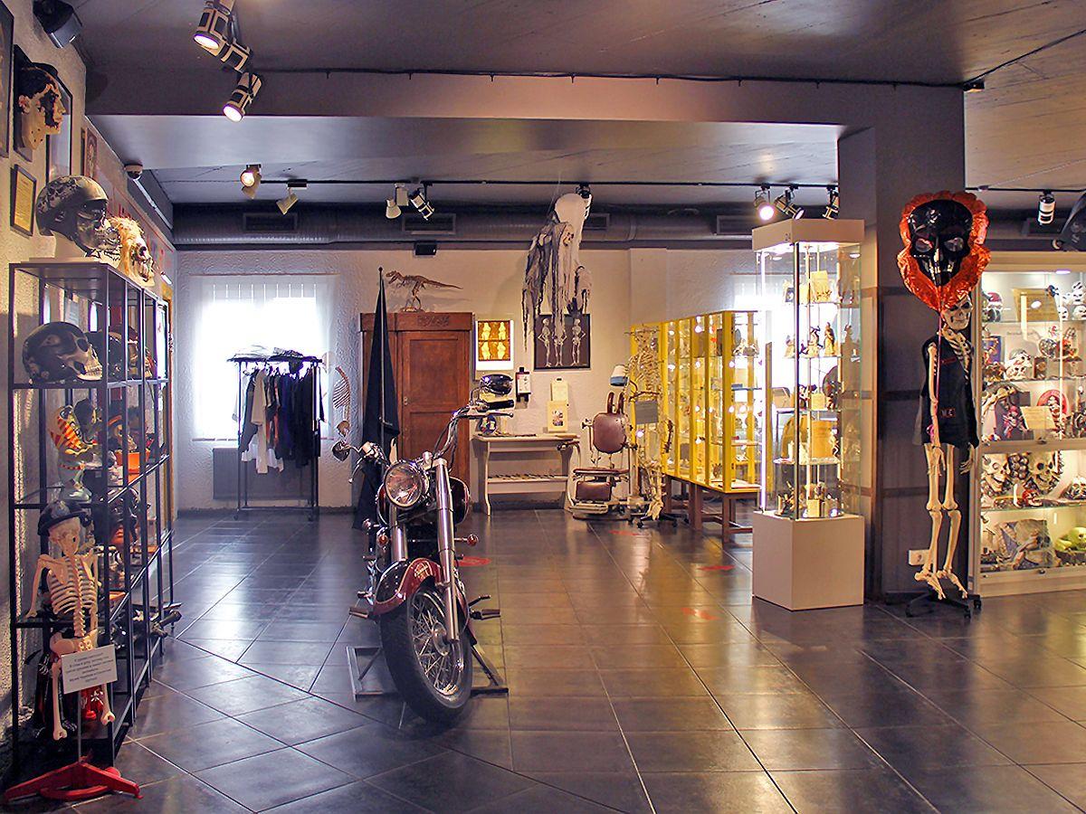 Вид зала в музее