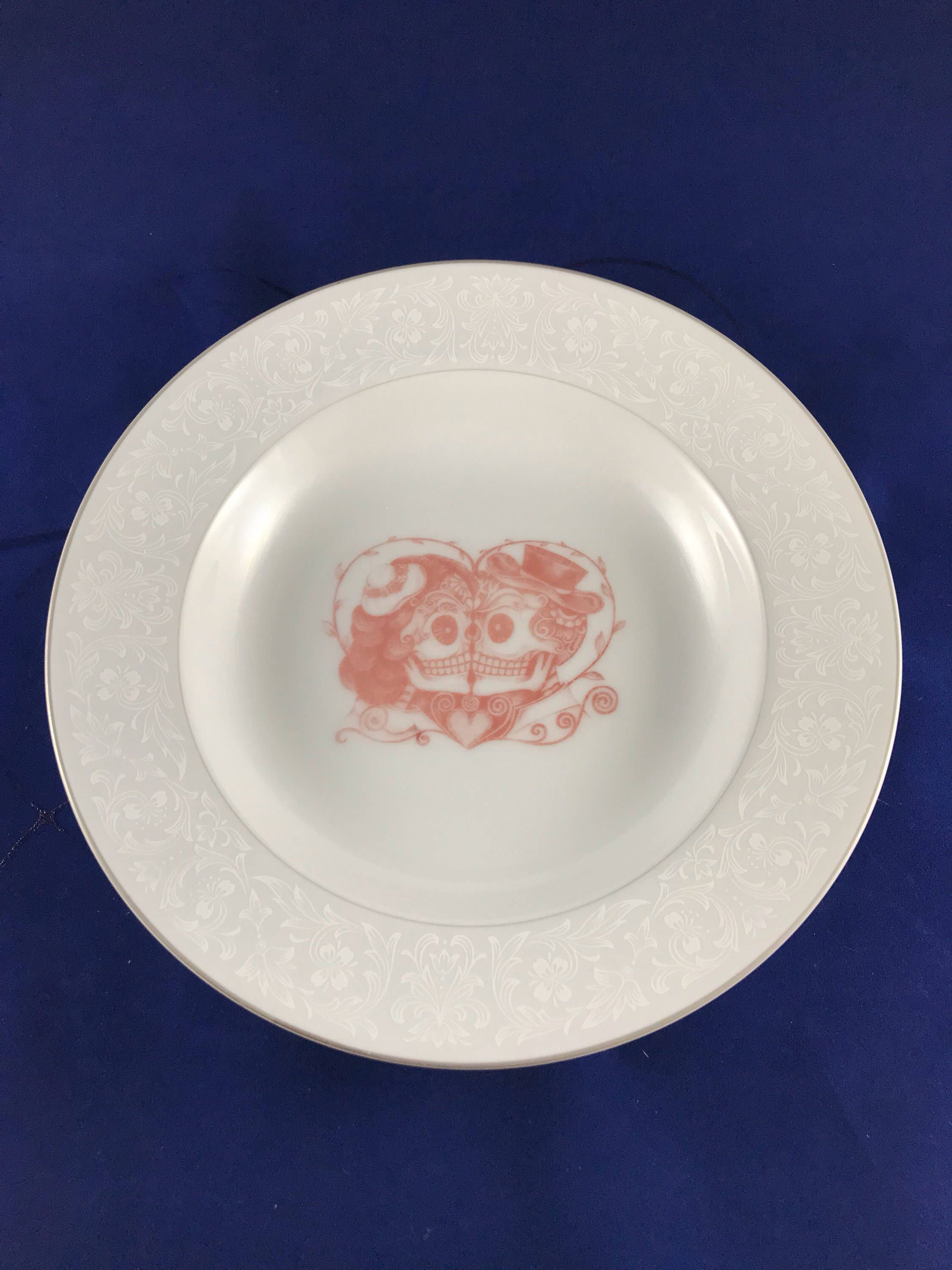 Sugar skull, couple, dinner plates, bowl, gothic gifts, house ...