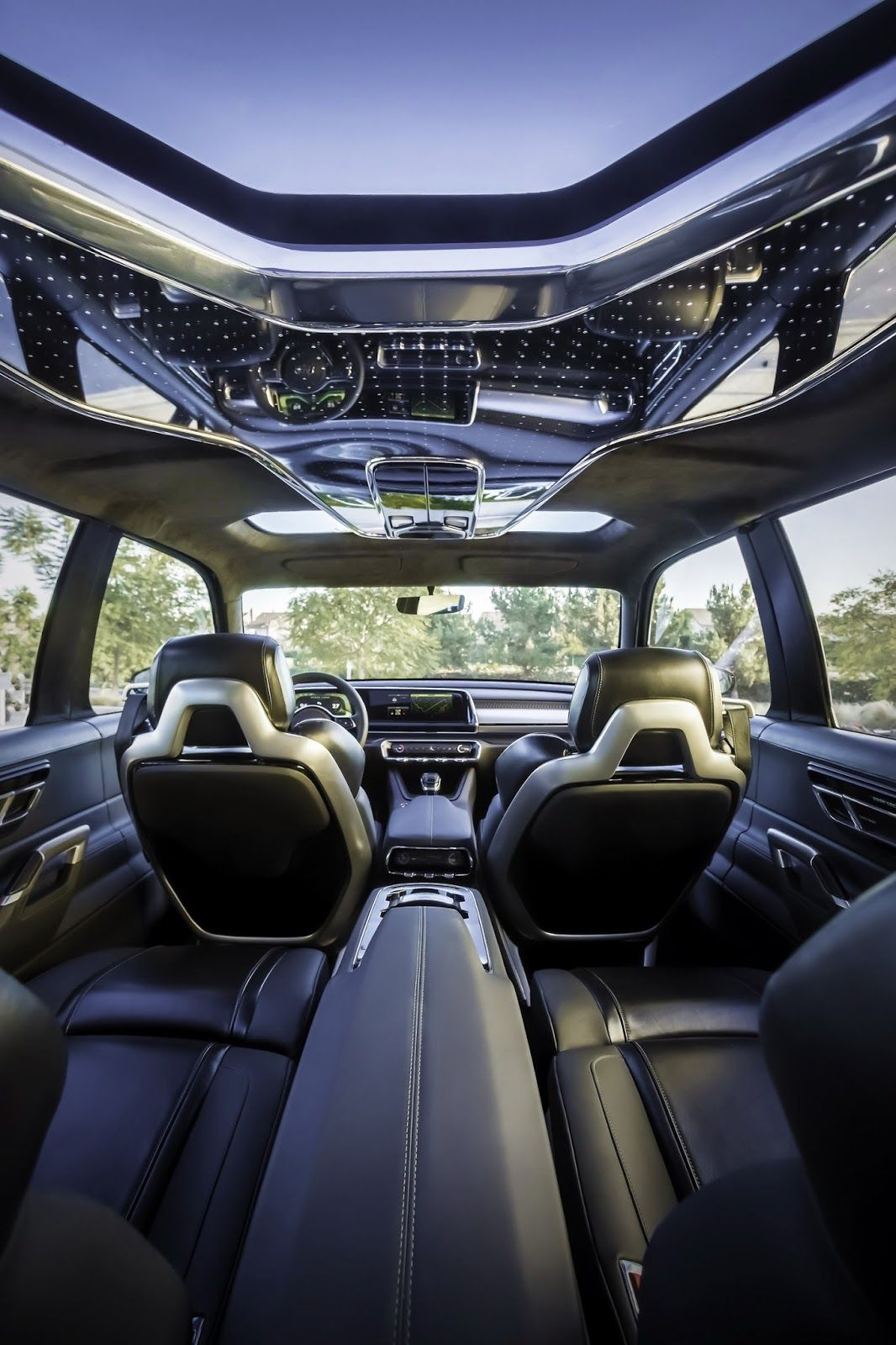 Kia Telluride Full Size Suv Concept Reportedly Heading To Production Carscoops In 2020 Luxury Car Interior Kia Telluride