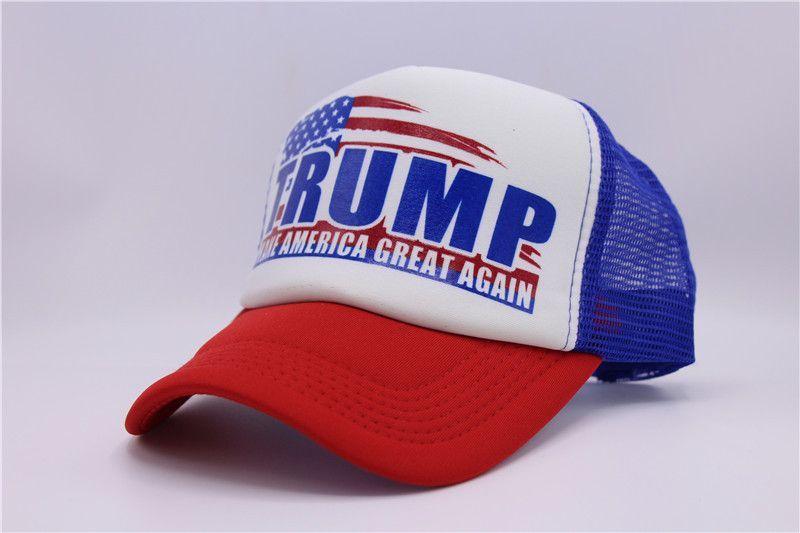b54c818c710 Make America Great Again Hat Donald Trump Cap 2016 GOP Republican Adjust  Mesh Baseball Cap patriots Hat Trump For president hat