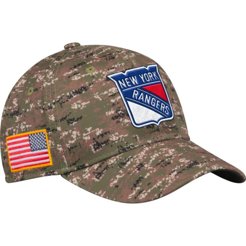 ea17e600 ... italy adidas mens new york rangers camo structured fitted flex hat team  7d6be 0e937