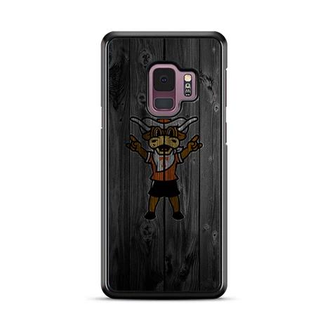 Texas Longhorns Bull Logo Dark Wood Wallpaper Samsung Galaxy S9 Miloscase Dark Wood Wallpaper Samsung Wallpaper Wood Wallpaper