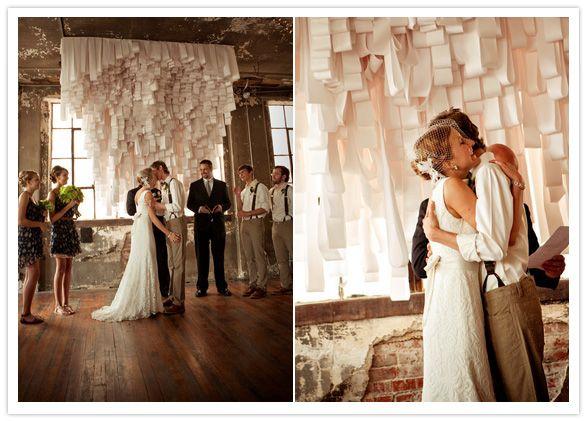 receipt paper altar backdrops altars and wedding