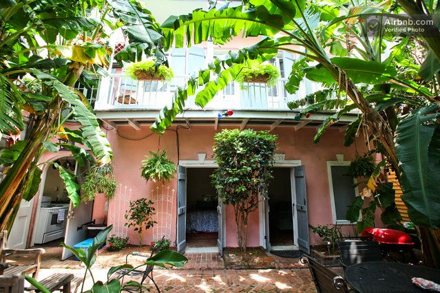 French Quarter Creole Cottage in New Orleans   New orleans ... on French Creole Decorating Ideas  id=59622