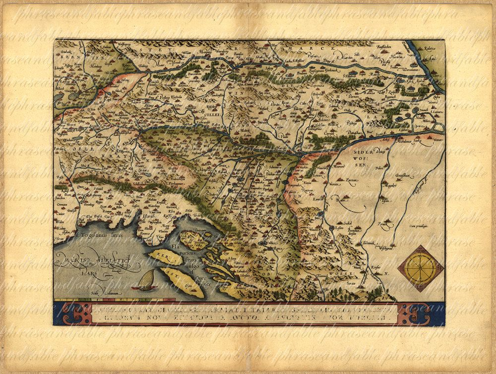 Balkans ancient old world map vintage digital travel slovenia balkans ancient old world map vintage digital travel slovenia croatia bosnia serbia istria hungary gumiabroncs Image collections