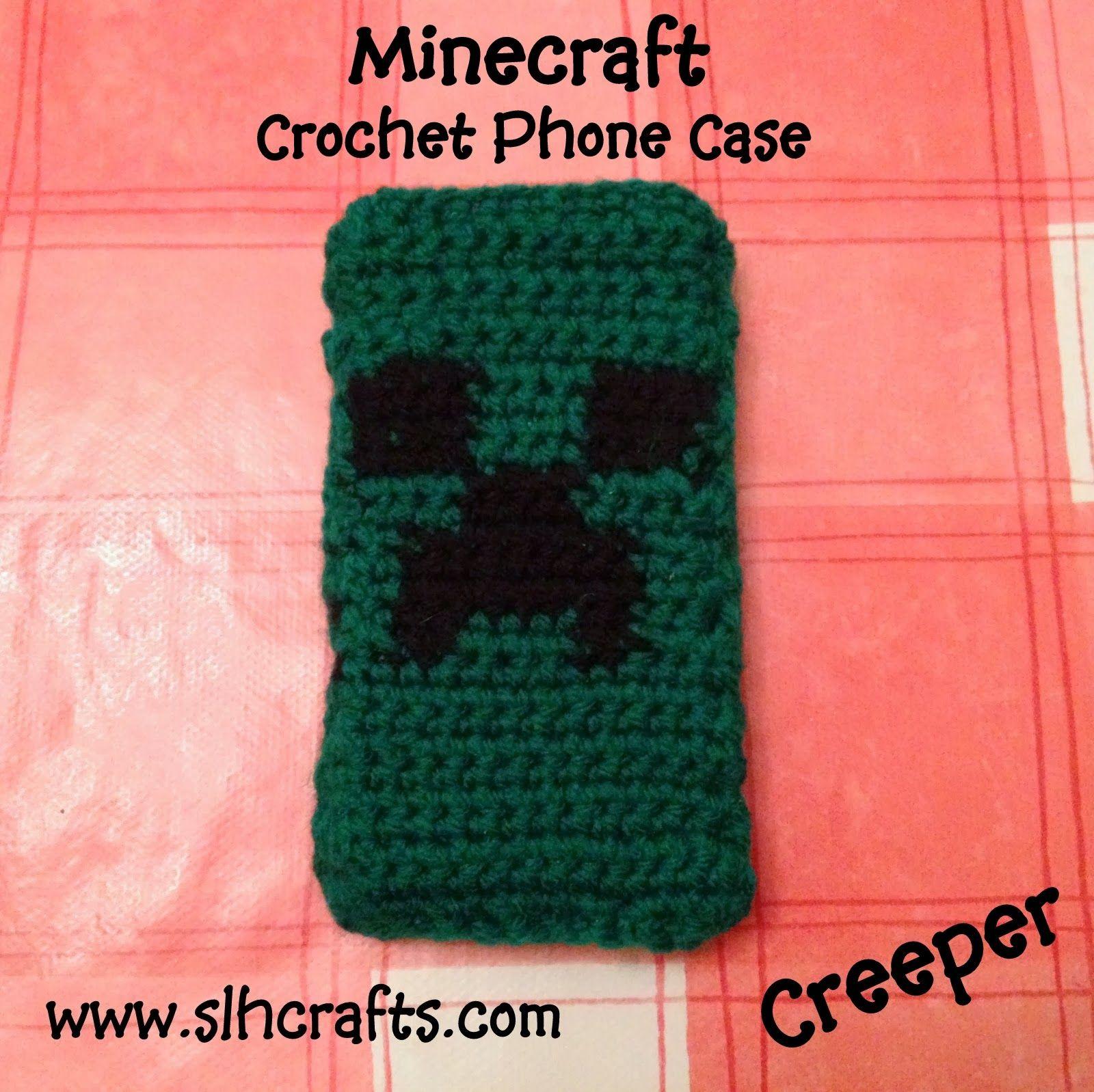 Crochet Minecraft Hat Character Patterns