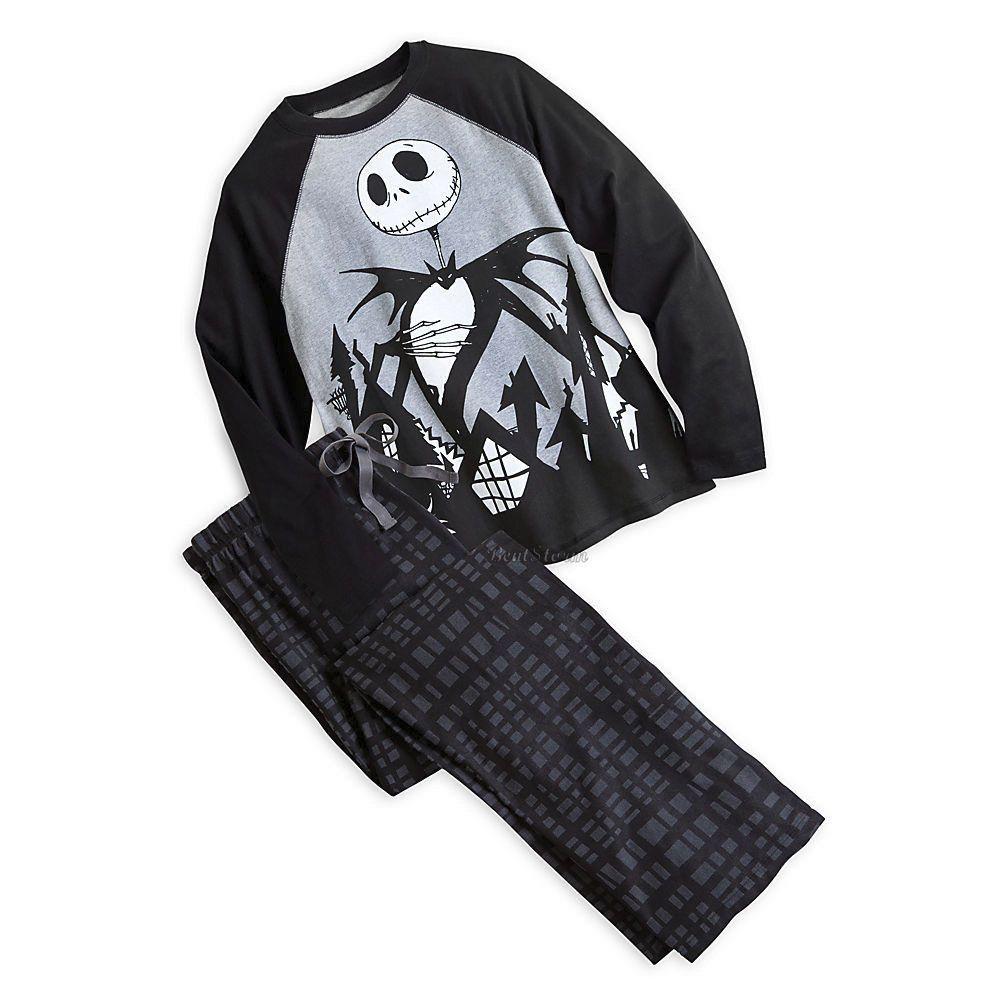 NEW Disney Store Jack Skellington The Nightmare Before Christmas Men s  Pajamas L  DisneyStoreTimBurton  toploungepantspjspajamasbottoms 5f1b77a7a