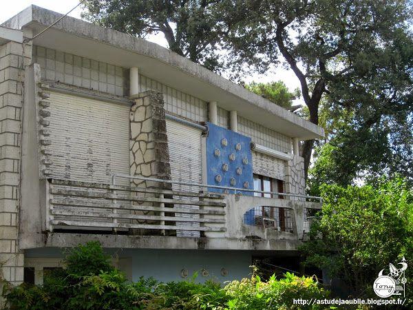 royan villa mitoyenne architecte r barre construction 1957 architecture pinterest. Black Bedroom Furniture Sets. Home Design Ideas