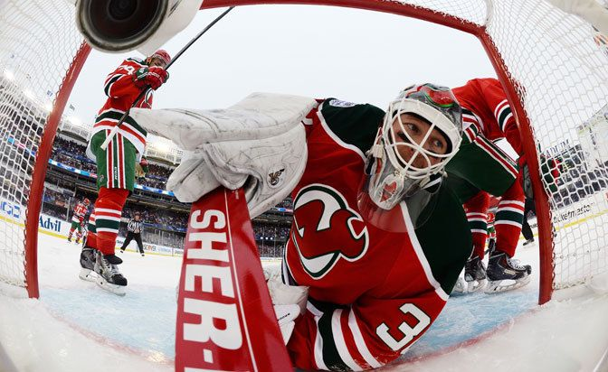 New Jersey Devils veteran Martin Brodeur takes outdoor game loss in stride - 2014 Coors Light NHL Stadium Series NY: Rangers/Devils/Islander...