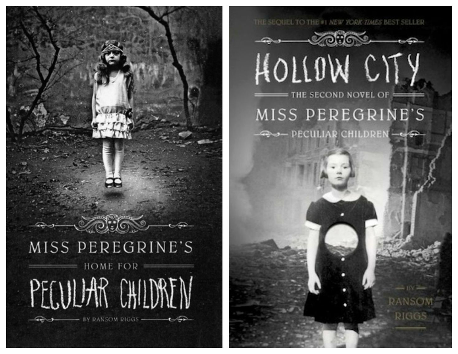 The First 2 Books In The Miss Peregrine S Home For Peculiar Children Trilogy By Peculiar Children Miss Peregrine S Peculiar Children Home For Peculiar Children