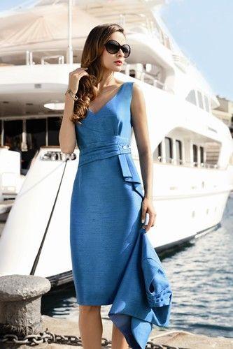 bb5cab2bbff Elegant ladies formal day wear design by Michaela Louisa.