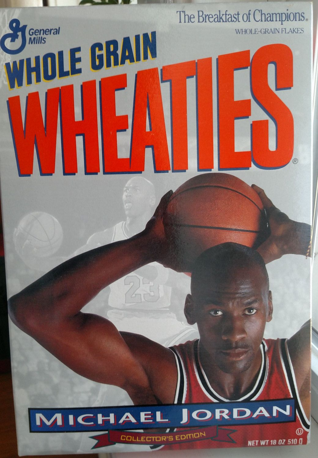 Vintage Collectible Michael Jordan Wheaties Box From My Etsy Shop