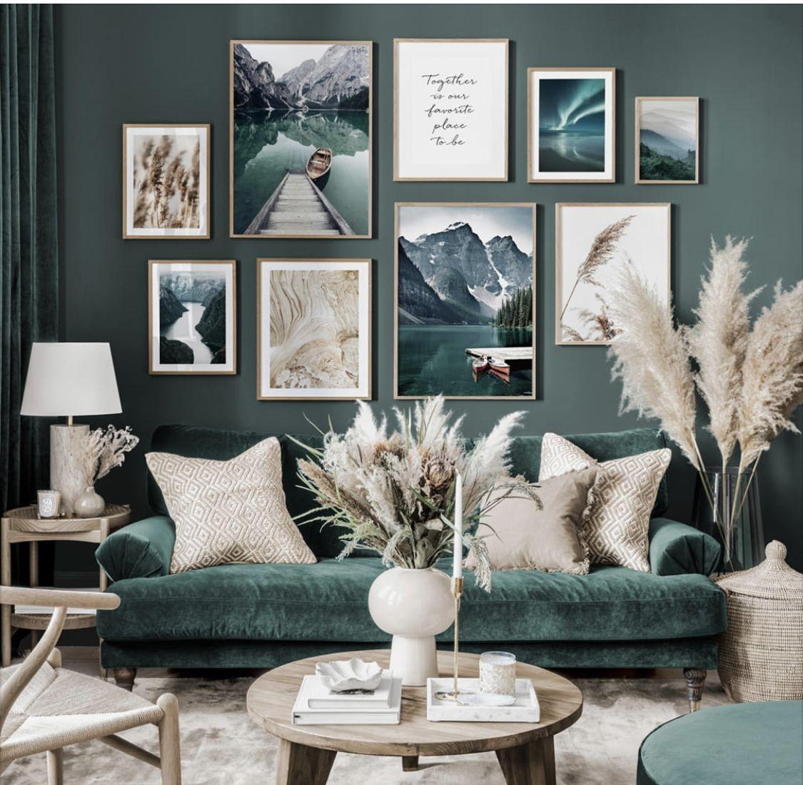 Pin By Marike Van Oostveen On Woonkamer Living Room Decor Modern Living Room Green Home Decor