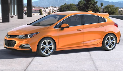 2019 Chevrolet Cruze Hatchback Redesign The Cruze Hatchback is in no