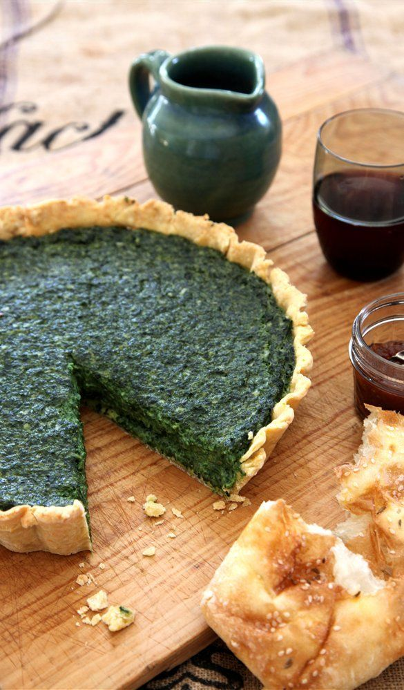 Authentic spinach ricotta parmesan tart annabel langbein authentic spinach ricotta parmesan tart annabel langbein recipes forumfinder Images