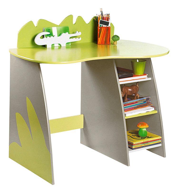 Chambre D Enfant 40 Bureaux Mignons Pour Filles Et Garcons Bureau Crocodile Vertbaudet Deco Plurielles Fr Kids Furniture Dresser Funky Desks Kid Desk