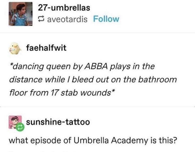 The Umbrella Academy Preferences Summer Days Wattpad Umbrella Funny Umbrella Academy