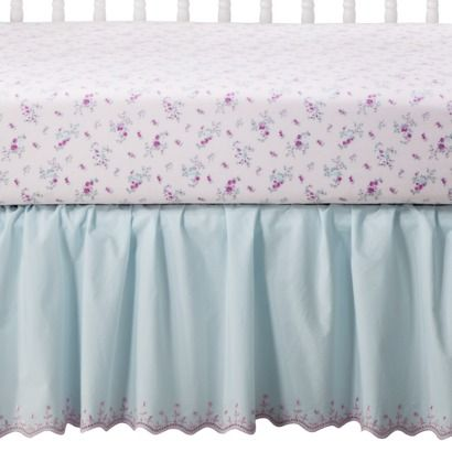 Simply Shabby Chic 174 Petite Paisley Crib Dust Ruffle