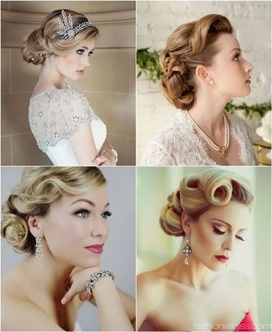 Vintage Braided Wedding Hairstyles Google Search Hair Styles