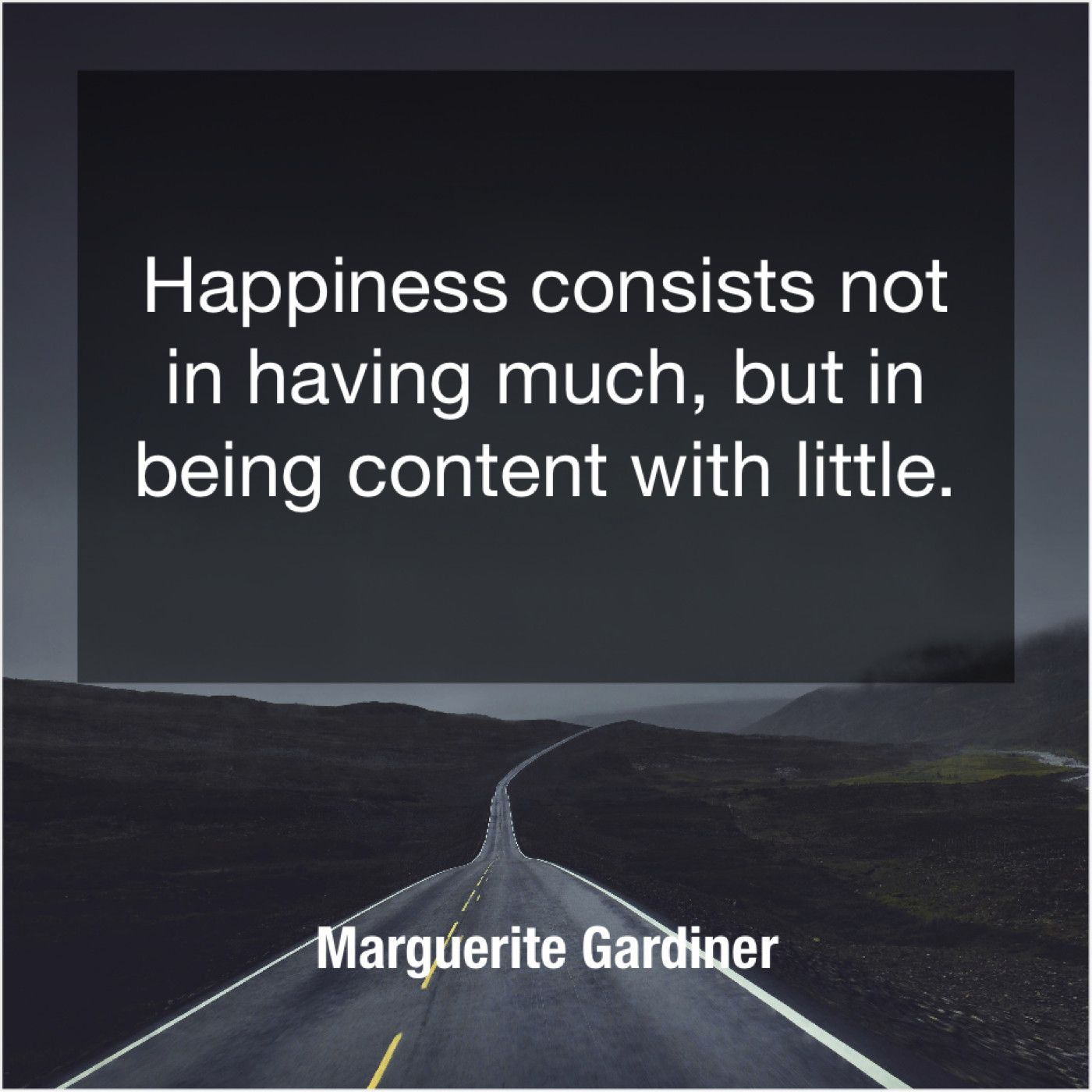 8daac37272d8 Marguerite Gardiner Happiness consists not in having | Famous Quotes ...