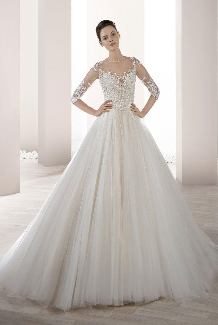 Demetrios Wedding Dresses 2017 { Long sleeve wedding dress } itakeyou.co.uk #weddingdress #weddinggown #bridalgown #bridaldress