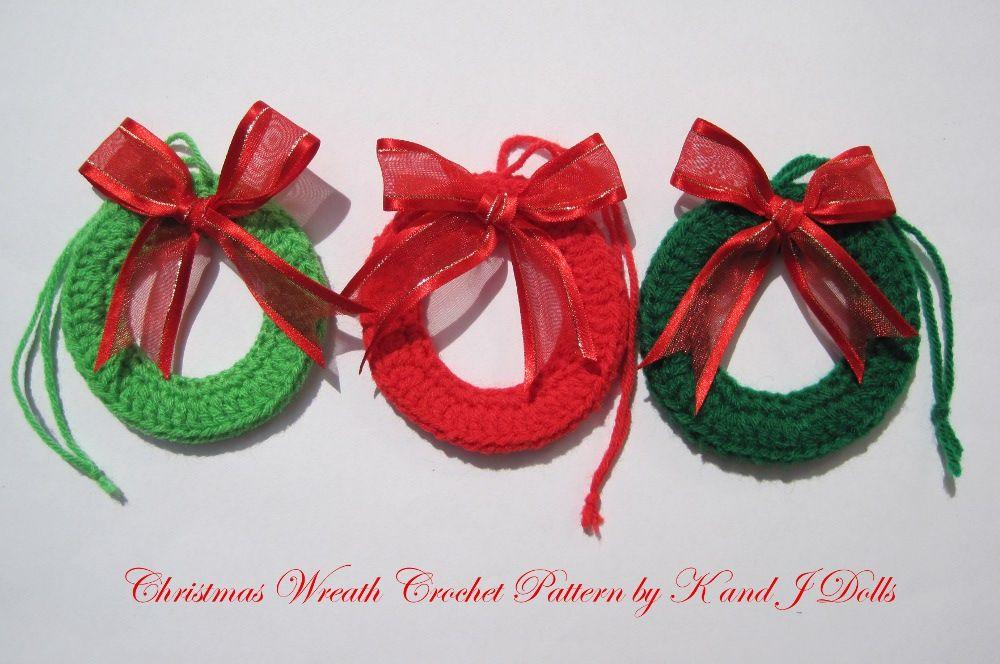 Crochet Patrones Gratis Navidad | Adornos de Navidad hecha a mano ...
