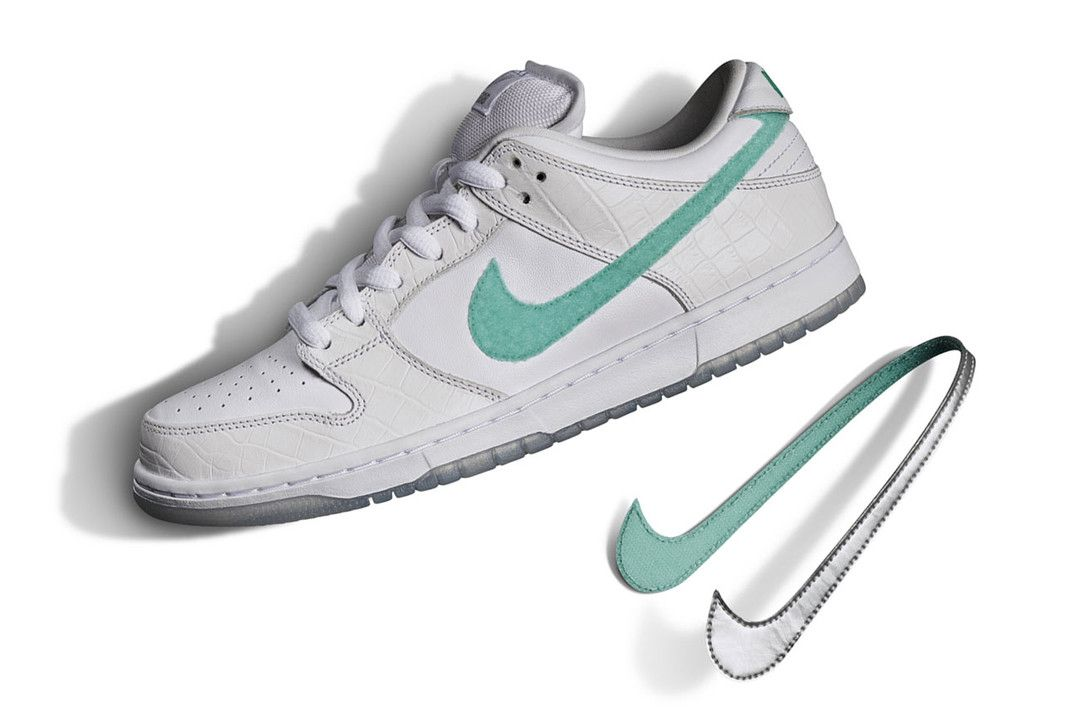 meet famous brand finest selection Diamond Supply Co. Officially Unveils Nike SB Dunk Low ...
