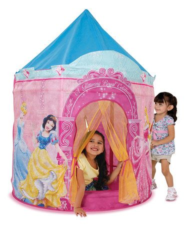 826b15799c1d Take a look at this Disney Princess Castle Play Tent by Playhut on #zulily  today!