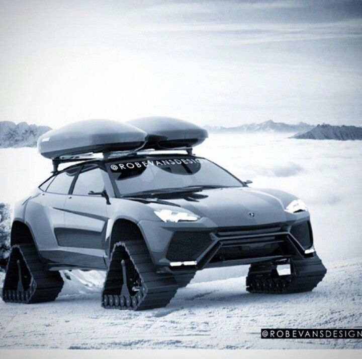 lamborghini urus on traxx in snow must shine in any weather