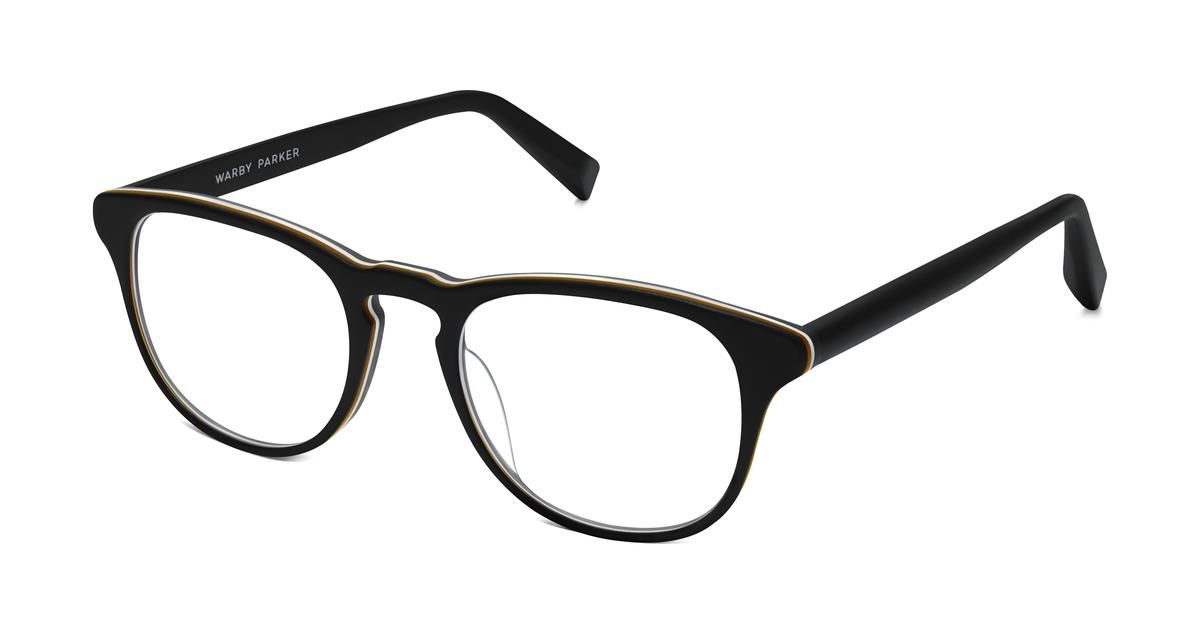 80cc9c434d Baker Eyeglasses in Black Matte Eclipse for Men