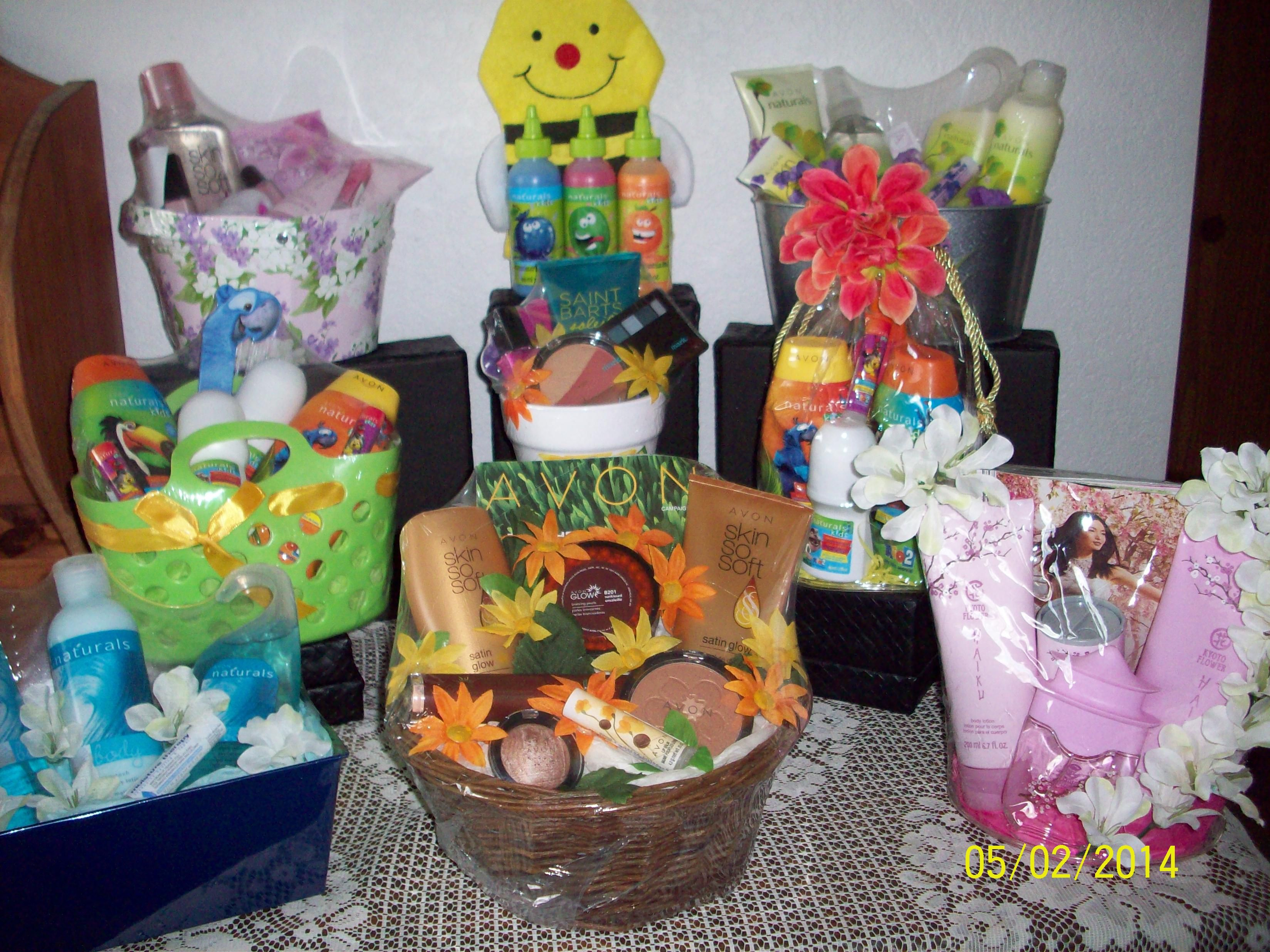 Some of the gift baskets i made up using avon products i can make some of the gift baskets i made up using avon products i can make special negle Image collections