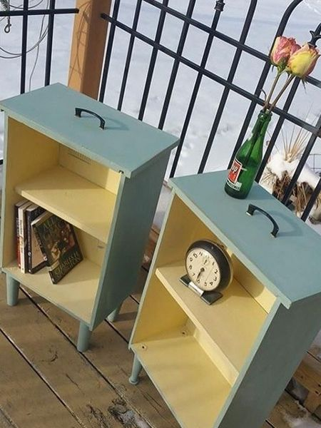 upcycling ideen von der schublade zum regal schubladen alte schubladen schubladen regal. Black Bedroom Furniture Sets. Home Design Ideas