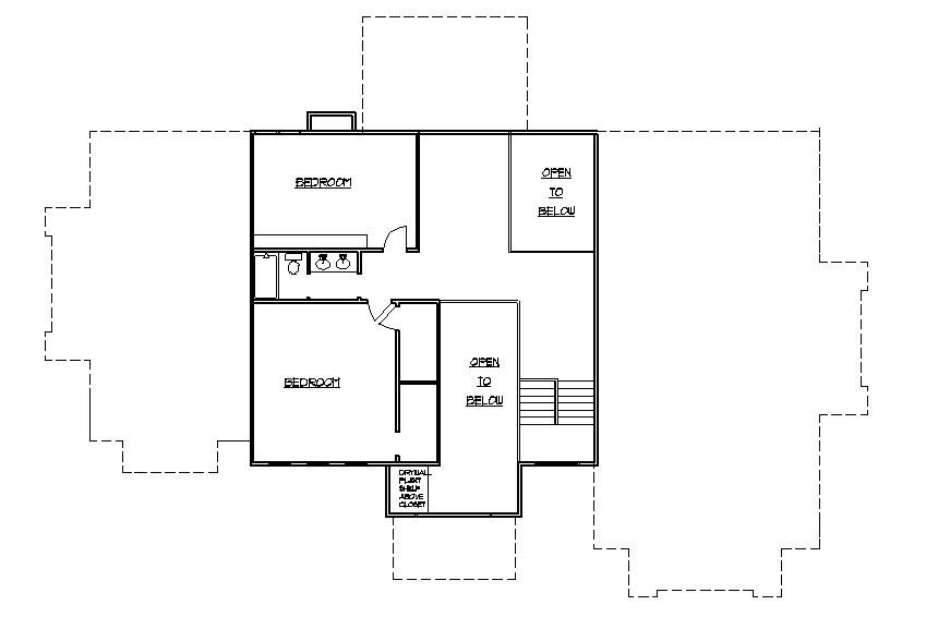 Ranch 2nd Floor Addition Blueprints And Plans Home Addition Plans Home Addition Simple House Plans