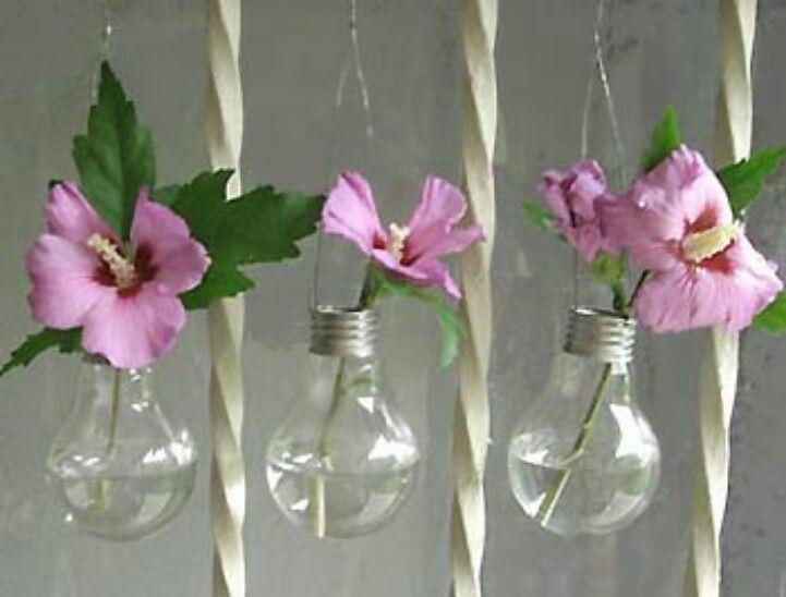 Recycler ses vieilles ampoules.esprit cabane