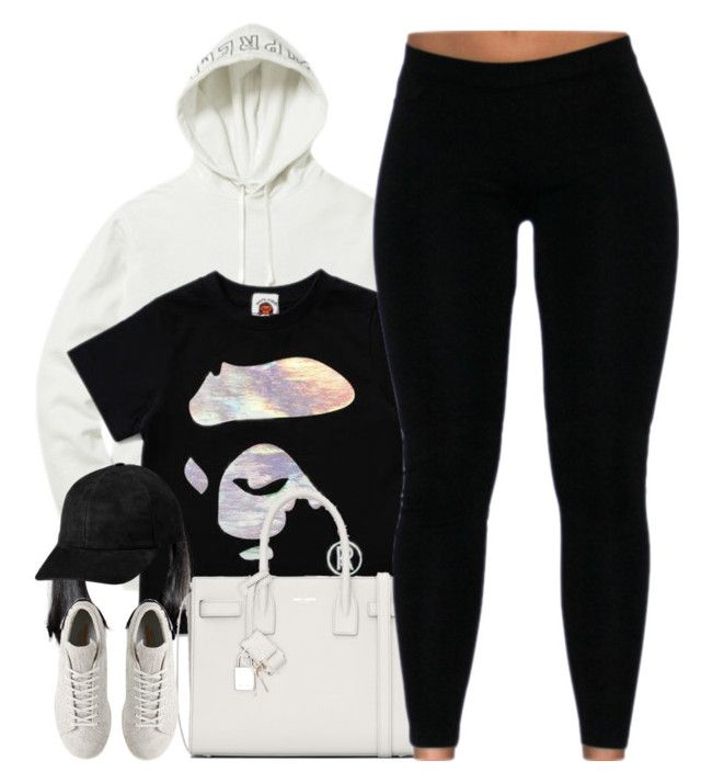 """""""Graphic"""" by oh-aurora ❤ liked on Polyvore featuring Yves Saint Laurent, Givenchy, polyvorecommunity, polyvoreeditorial, holo, styledbyA and PolyvoreMostStylish"""