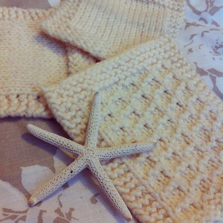 Knitted Coaster Patterns Starfish Knitting Wool Coaster