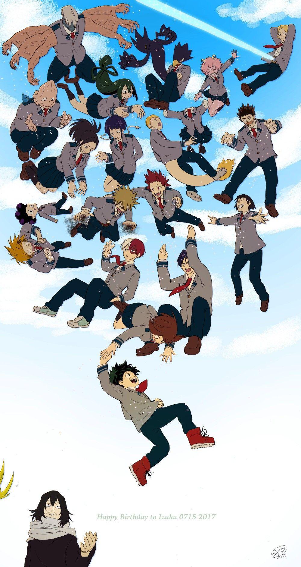   Save & Follow   Class 1A • My Hero Academia • Bo