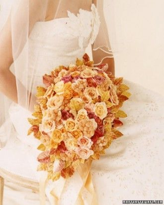 """See the """"Classic Bouquet"""" in our Orange Wedding Bouquets gallery"""