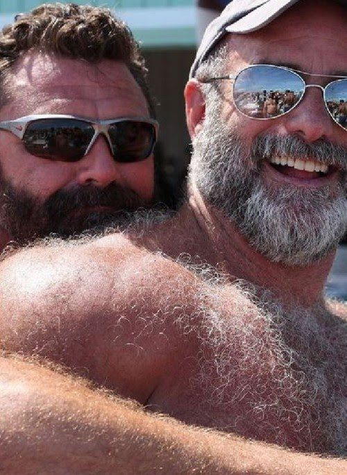 Mature Very Hairy Gay Couples