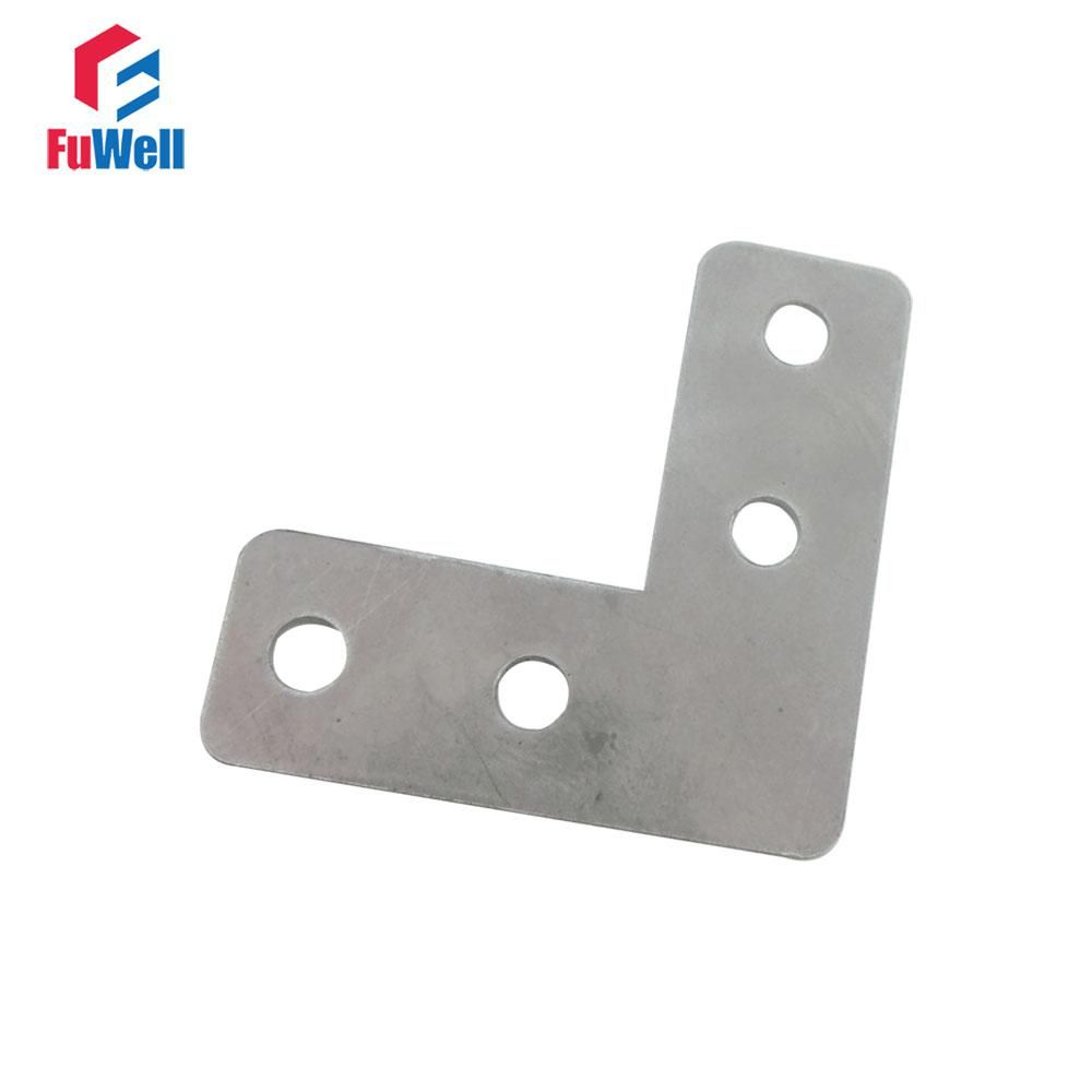 10pcs 60mm X 60mm L Type Bracket Stainless Steel 1mm Thickness Mending Repair Plate Connector Corner Angle Bracket With Images Angle Bracket