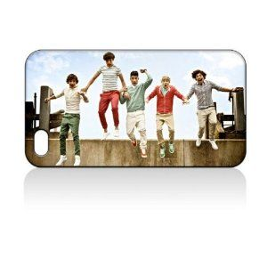 iPhone case---    ONE Direction Hard Case Skin for Iphone 4 4s Iphone4 At Sprint Verizon Retail Packing.