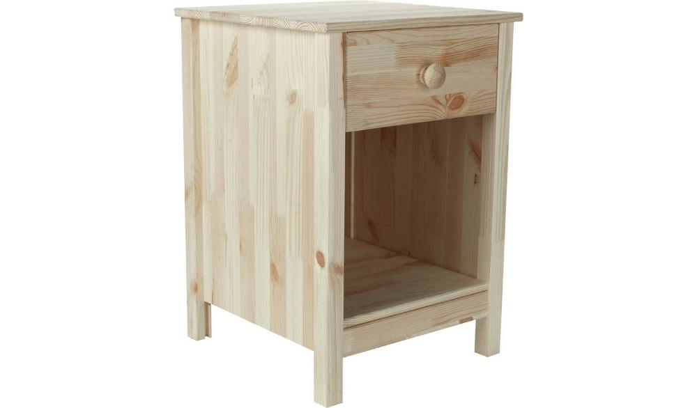 Buy Argos Home Scandinavia 1 Drawer Bedside Table Pine